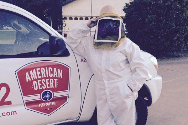 Dawn Christon bee suit